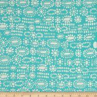 Cotton + Steel Sienna Rayon Challis Moonstone Turquoise