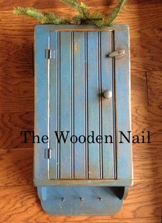 """An Olde Soap Cupboard Pattern PM165 by """"The Wooden Nail"""""""