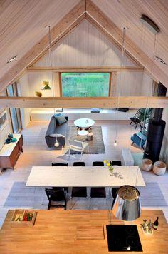 A Modern Lakehouse In Finland: House Åkerudden by MNy Arkitekter
