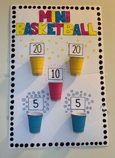 Mini Basketball Craft