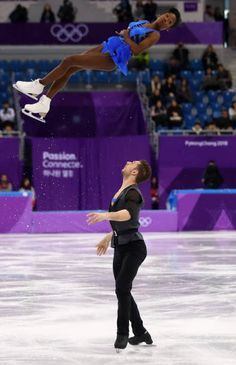 79e58afe76f0f Vanessa James and Morgan Cipres of France compete during the Pair Skating  Short Program on day five of the PyeongChang 2018 Winter Olympics at  Gangneung Ice ...