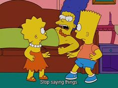 LOL funny people life gpoy best the simpsons simpsons marge marge simpson television jokes ALL THE TIME Simpsons Funny, Simpsons Quotes, The Simpsons, Memes, Way Of Life, Lisa Simpson, Funny People, The Funny, Just In Case