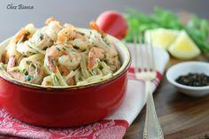 Espaguete com camarão scampi « chezbianca