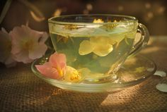 Practical Magic(k): Sage Tisane for Vitality, Wish Making and Spiritual Purification - Evolve + Ascend Flower Tea, Teacup Flowers, Edible Flowers, Flower Petals, My Cup Of Tea, Tea Cup, Cuppa Tea, High Tea, Drinking Tea