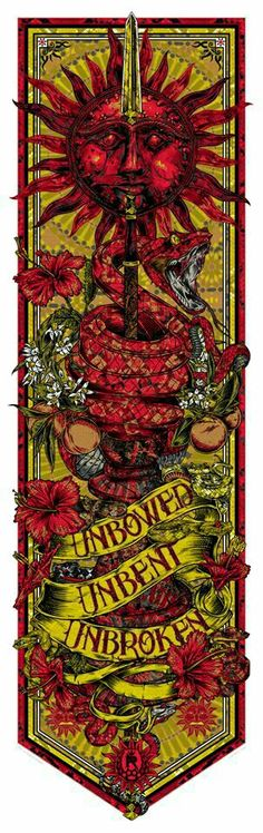 House Martell - Unbowed Unbent Unbroken