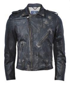 Ace Leather Jacket (Black) - Bolongaro Trevor, Hoxton Trading Ltd
