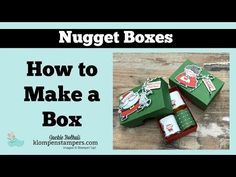 Learn how to make candy boxes | Hershey Nuggets is what I filled mine with today but you can change it up for sure! Makes a fun handmade gift #chocolategift Christmas Bazaar Crafts, Christmas Candy Gifts, Christmas Punch, Christmas Store, Christmas Goodies, Christmas Wrapping, Candy Gift Box, Candy Boxes, Gift Boxes