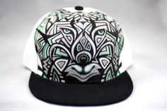 6b8025d56 22 Best Animal Hand Painted Snap-Back Hats images in 2013   Hats ...