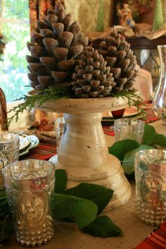 vignette design: The Everyday Holiday Centerpiece