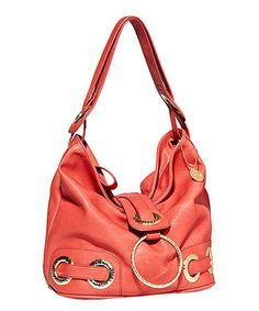 Loving this Big Buddha Red Jenny Satchel on #zulily! #zulilyfinds