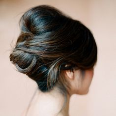 Sleek Wrapped Updos