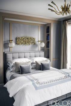 Great 51 Cozy Grey Bedroom Designs With Upholstered/Tufted Headboard T Grey Bedroom  Design, Gray