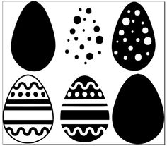 FREE SVG File – More Easter Eggs | Miss Vickie's CuttingCrazy Blog