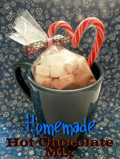 Homemade Hot Chocolate Mix ~ The Busty Baker