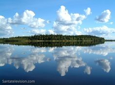 Finland, a country of thousands of lakes