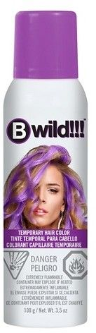 Jerome Russell Bwild Temporary Hair Color Spray Panther Purple - 3.5oz afflink