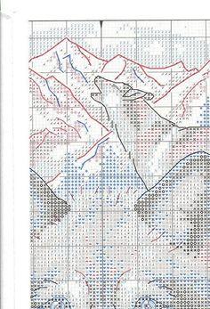 Wolves - 6/10 Solo Patrones Punto Cruz (pág. 392) | Aprender manualidades es facilisimo.com