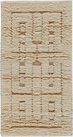 Swedish Half Pile Fluffy Rug for cozy living room interior decor