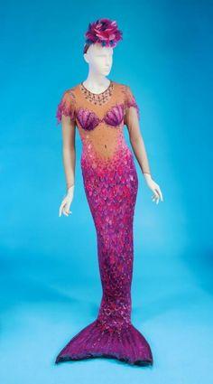 """Bette Midler's """"Dolores De Lago"""" mermaid costume"""