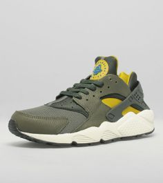 Nike Air Huarache  Army  - find out more on our site. Find the freshest in  trainers and clothing online now. 6c40bbcd37bb