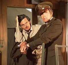 """""""MASH""""   Trapper and Hawkeye   Premiered 9-17-1972 till Ended 2-28-1983   (American Medical Dramedy Television Series)"""