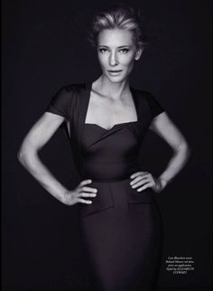 Cate Blanchett is an alien.  How is it possible for a person to ALWAYS look this good?