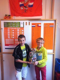 Lars en Mika: winnaars NL - Australië!
