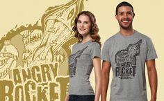 """28.05.2012 tişörtü """"Angry Rocket"""""""