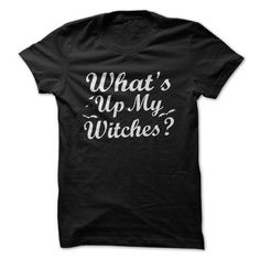 What's up my Witches??? Now you can walk around with some serious swagger with this design. With a perfect play on words just in time for Halloween, this shirt is a great option for those of you who h