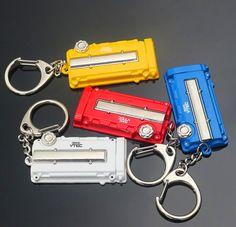 Fashion Metal Auto Car Logo key ring keyring keychain key chain for Honda EK/EG Engine Valve Cover Chaveiro Llavero Pendant #Affiliate
