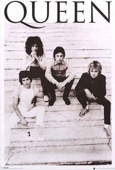 Queen Band Portrait Brazil 1981 Poster 24x36
