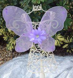 Purple Fairy Wings Purple Tinkerbell Wings Fairy by partiesandfun, $9.00