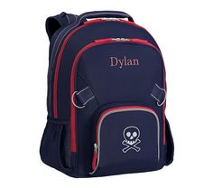 Fairfax Solid Navy Backpack