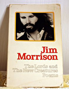 Jim Morrison  Vintage Poetry Book  Lords by RandomVoyeurVintage, $16.00