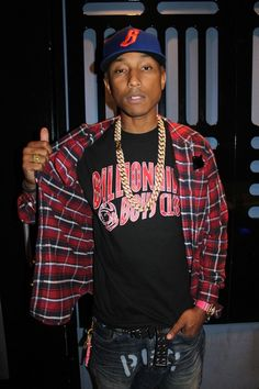 The immortal never-ageing genius that is Pharrell