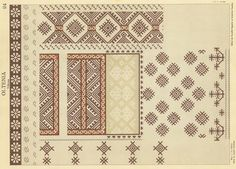 Embroidery Patterns, Cross Stitch Patterns, Romania, Diy And Crafts, Traditional, Quilts, Restaurant Ideas, Design, Folklore