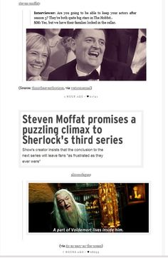 Sherlock will continue.but since it's Moffat, it will probably just get more painful at the end of the next season. < Honestly, voldemort doesn't live in moffat, umbridge does. Sherlock Fandom, Sherlock Holmes, Funny Sherlock, Fandoms, Mrs Hudson, Sherlolly, Love Him, My Love, Steven Moffat