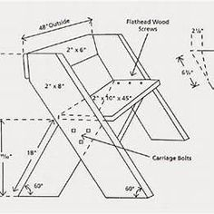 Aldo Leopold Bench Plans 2X12 #woodsofaplans