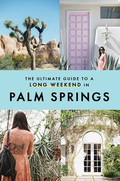 Putting together a girls' long weekend getaway to Palm Springs? I've put together a perfect itinerary for you, including information on my favorite hotel in Palm Springs! #California #Getaway #PalmSprings