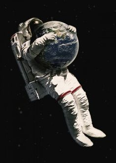 surrealism scifi sicfiart astronaut illustration