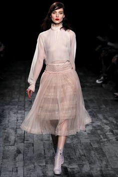 Full skirts at Nina Ricci Fall 2012