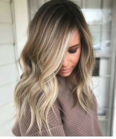 * Slay. The. Blend ... by @hairbyjpark #btchairbyjpark #behindthechair #perfecthair #gorgeoushair #hairenvy #balayage #blonde