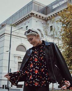 #mfw day 4  Total look @kiabi_italia per la mia seratina milanese! #kiabi_italia #LaFelicitàTiDona  #chiaralosh // #outfit #outfitoftheday #mfw2017 #milano #look #fashion #style #rock #fashion #girl #blonde #roses #smile #happy #kiabi