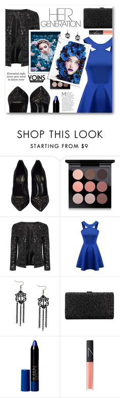 """Her Generation"" by tasnime-ben ❤ liked on Polyvore featuring Casadei, MAC Cosmetics, Chicnova Fashion, NARS Cosmetics, yoins and yoinscollection"
