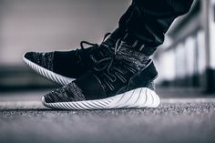 Adidas Tubular Doom Primeknit GID Core Black Available via : - 43einhalb - END. Clothing - Caliroots