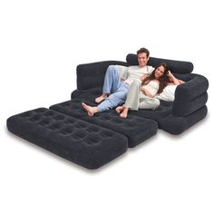 Inflatable Pull Out Sofa | Overstock.com Shopping - Big Discounts on INTEX Camp Furniture