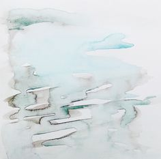 32 of 100, #100littleartworks series by Lesley Frenz, watercolor on vellum, 6x6 #abstractart #watercolor #interiordesign #paintings #fineart