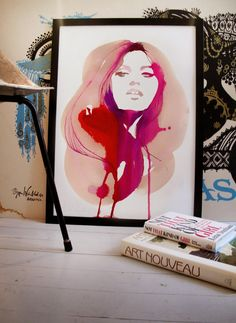 Poppytalk: Dispatch from Sweden | New Prints by Stina Persson