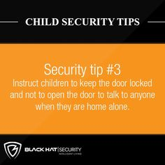 Child Security Tips Security Tips, Safety And Security, Home Security Systems, Home Safes, The Neighbourhood, First Love, Children, Hat, Black