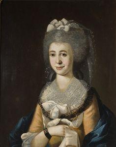 Ann Fuller by James Coleman 1786